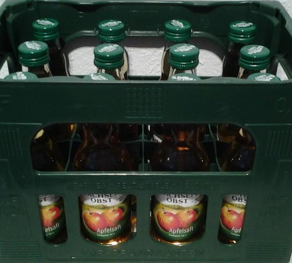 Sachsen Obst Apfelsaft 12x0,2l