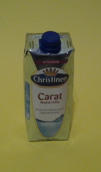 Carat Mineralwasser Naturell Tetra 0,5l
