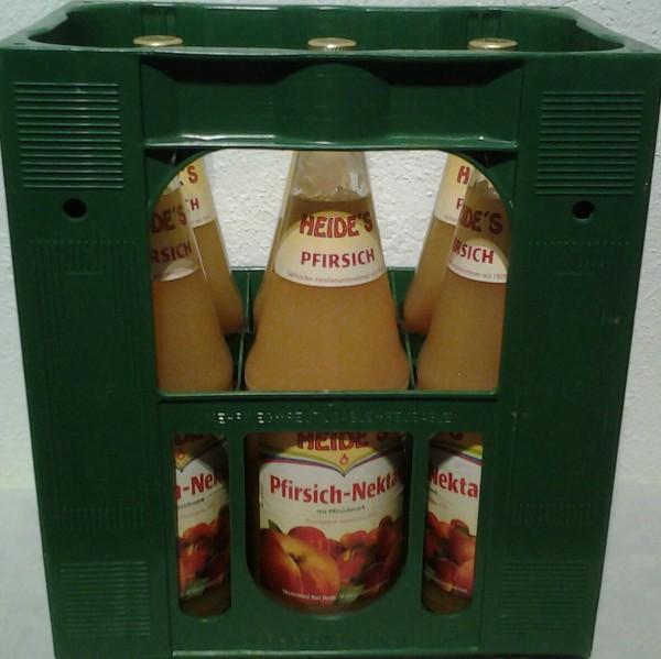 Heide`s Pfirsich-Nektar 6x1l