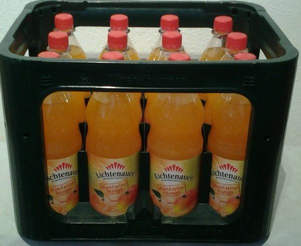 Lichtenauer Mandarine Mango 12x1l