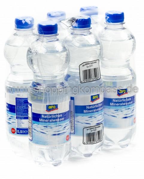 Aro Mineralwasser 6x0,5l