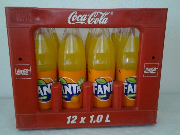 Fanta 12x1,0l