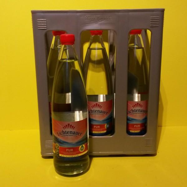 Lichtenauer Pur 6x1l Glas
