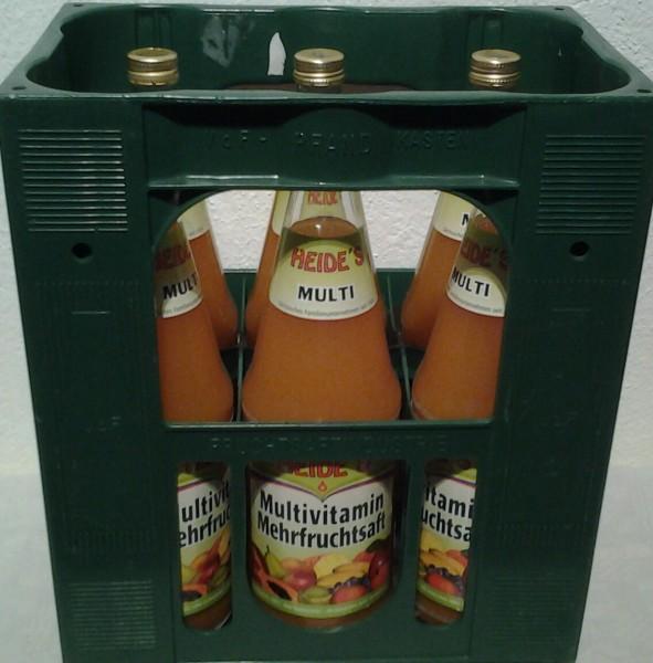 Heide`s Multivitamin Mehrfruchtsaft 6x1l