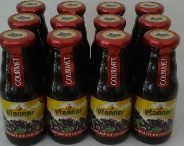 Pfanner Schwarze Johannisbeere 12x0,2l