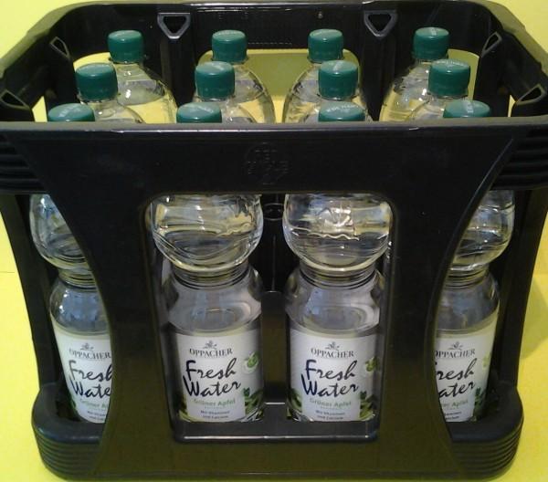 Oppacher Fresh Water Grüner Apfel 12x1l