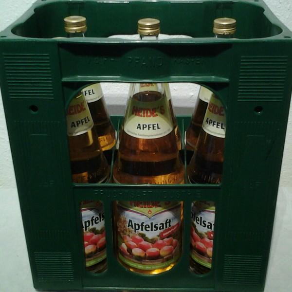 Heide`s Apfelsaft 6x1l