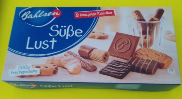 Süße Lust Keks-und Waffelmischung 200g